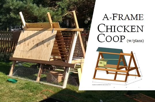 Picture of A-Frame Chicken Coop: Redux