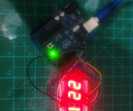 Arduino 4 digit 7 segment display