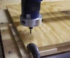 Arduino Powered CNC Router