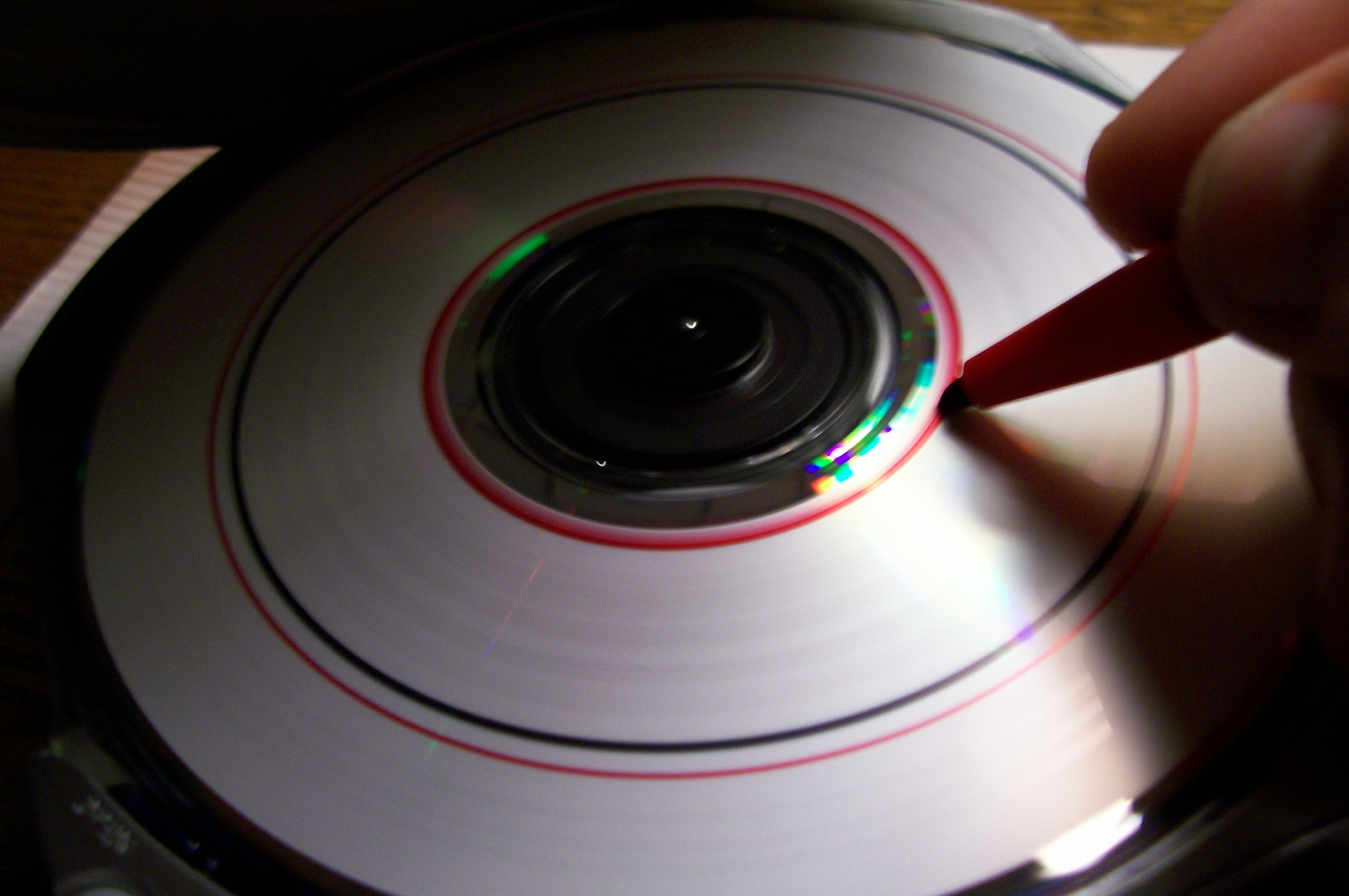 Picture of Drawing on Your CD