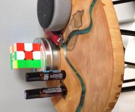 DIY Epoxy River Table