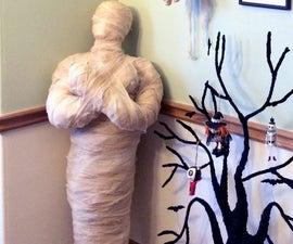 Halloween Standing Mummy Prop