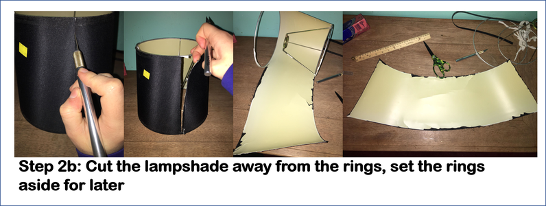 Disassemble the Old Lampshade