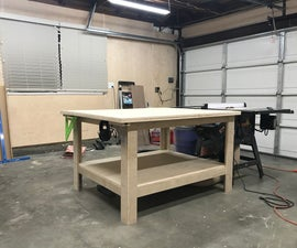 Robust Plywood Outfeed & Assembly Table