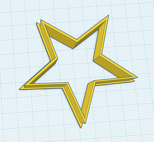 Picture of Designing 3D Print Cookie Cutter in TinkerCad
