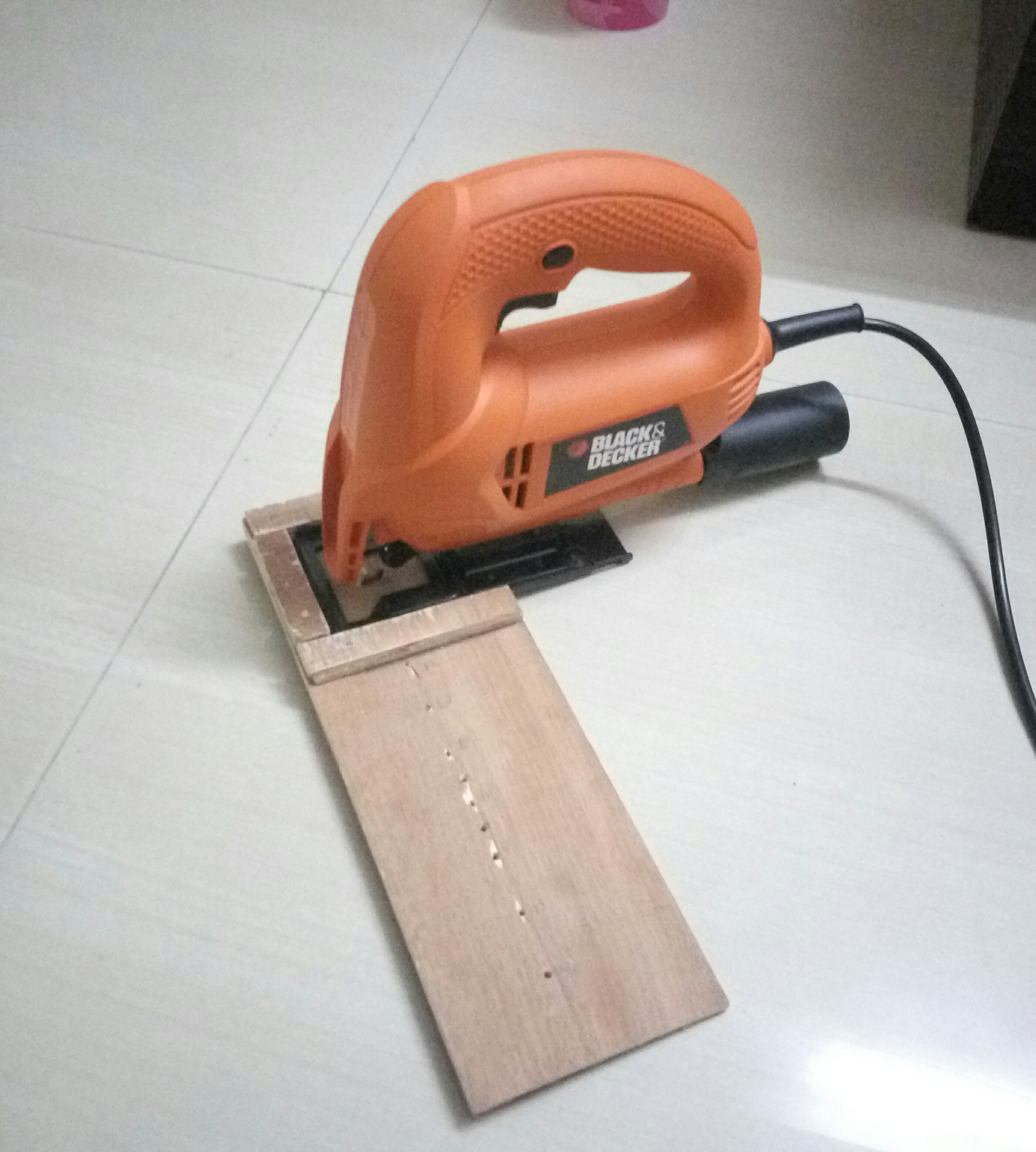 Picture of Circle Cutting Jig