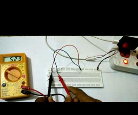 5V DC Power Supply for Breadboard Using Phone Charger