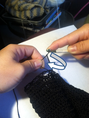 Picture of Solomon's Knot for Main Sides of the Bag
