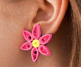 DIY 3 X Quilled Paper Earrings - in Under 1 Hour!   Beginner Quilling Tutorial