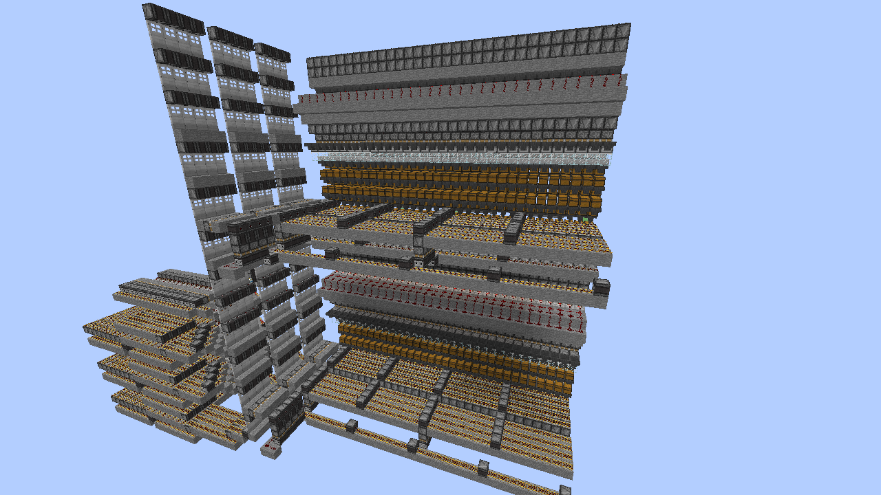 Picture of Massive Expandable Storage System