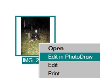 Open the Photo You Wish to Edit in PhotoDraw