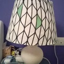 New lampshade for vintage lamp