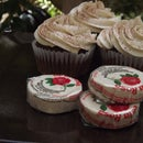 Spicy Chocolate Cupcakes with De la Rosa Candy Frosting