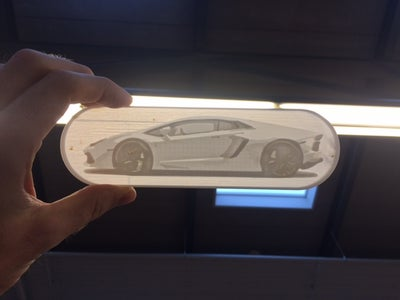 Illuminating Picture to 3D Print