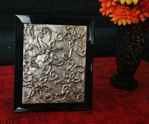 Embossed Foil Wall Art