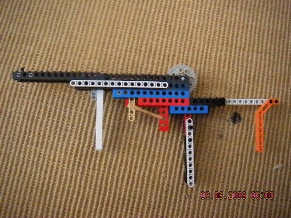 The TF-1 Transformer Folding Rubberband Rifle