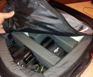 DIY DSLR Camera Backpack