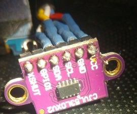 Digitaler Zollstock Mit Laser Sensor VL53L0X  Bis 1,20 Meter