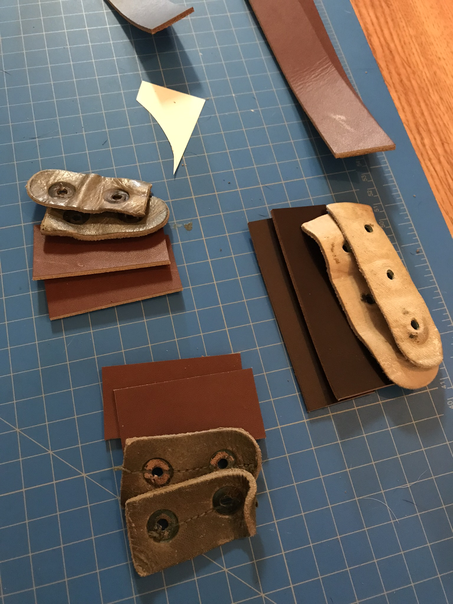 Picture of Cut Out All the Parts for Your New Bag