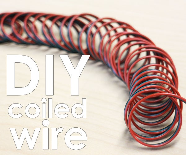 Make Coiled Wire
