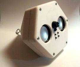 Johnton-wave - Pyramidal Speaker for Ceiling