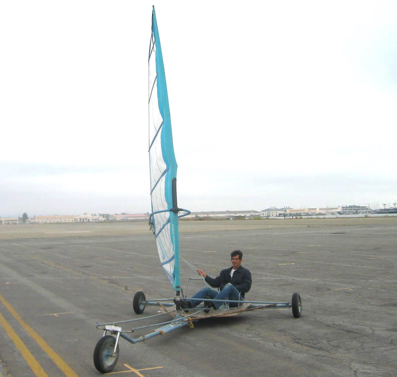 Picture of Greg Milano's Wheelbarrow Wheel Landyacht