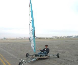 Greg Milano's Wheelbarrow Wheel Landyacht
