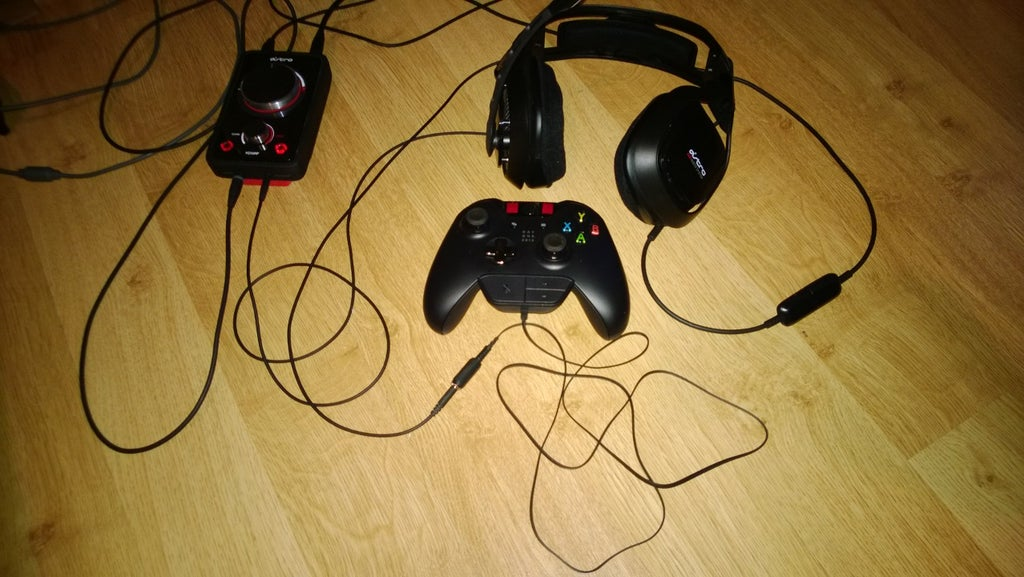 xbox one 2.5mm headset adapter : 3 steps (with pictures ...  instructables