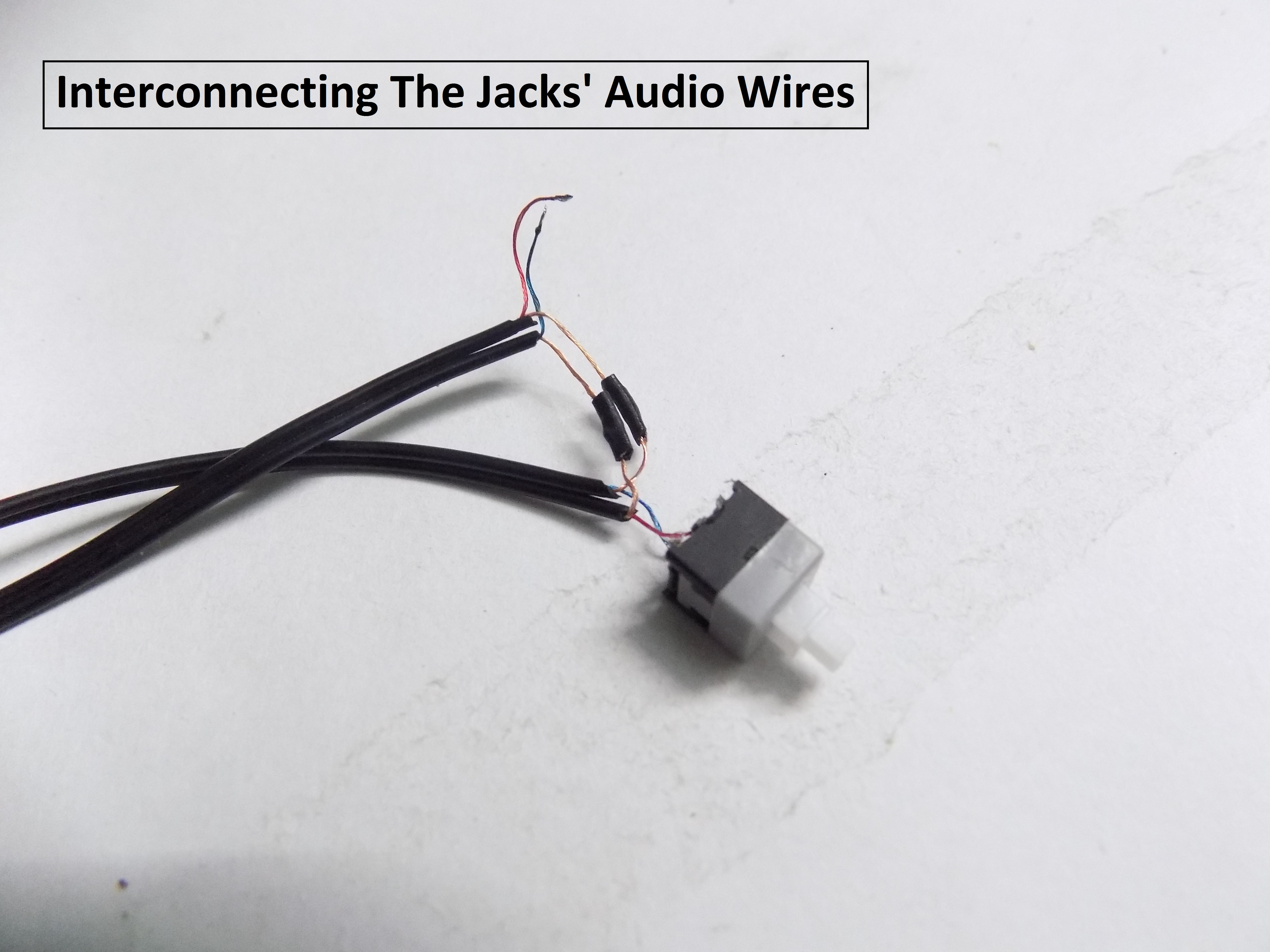Picture of Connecting the Jacks With the Switch
