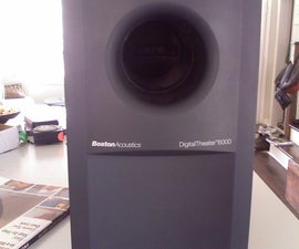 Convert a Passive (non-powered) Subwoofer to Powered Subwoofer