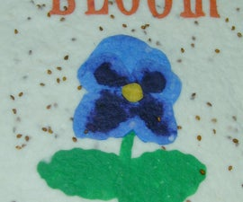 Let us green you up (grow your own paper planter cards )