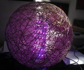 RGB LED Strip Disco Ball