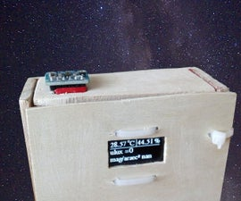 Portable Weather Station for Night Sky Observers