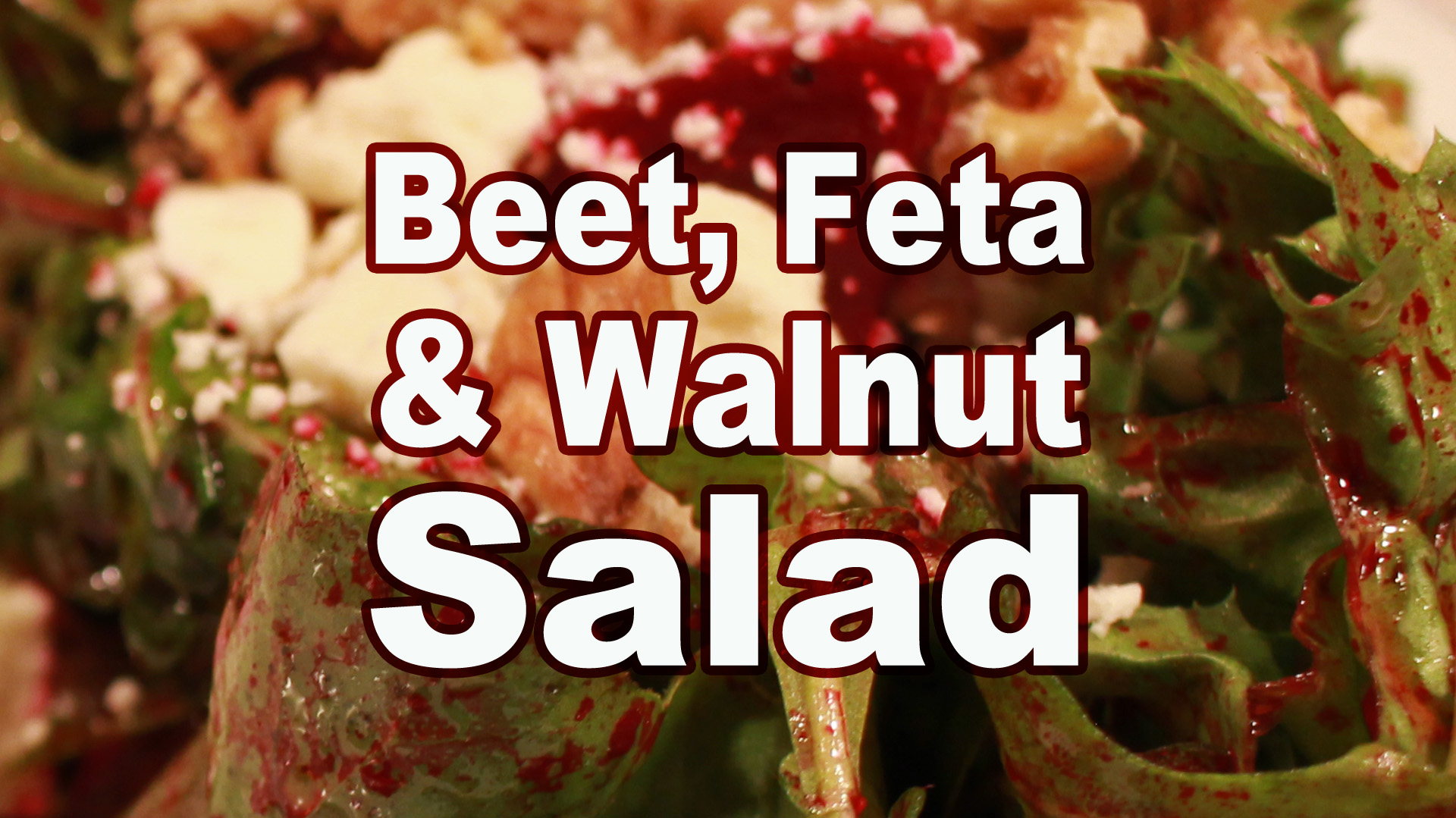 Picture of Beet, Feta and Walnut Salad