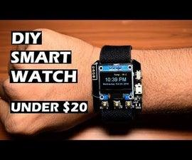 Make a DIY Smartwatch Using ESP8266