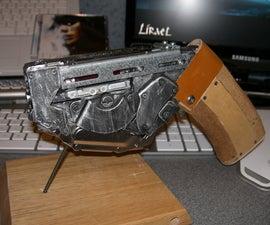 Cyber/Steampunk Futuresque Sci-Fi Hand Gun