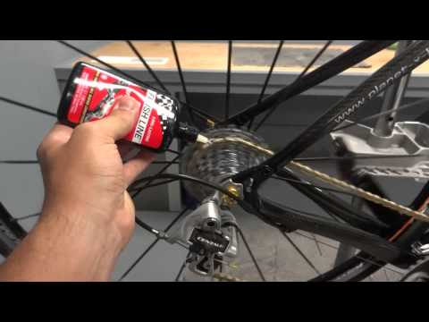 Picture of Cleaning and Lubricating Your Bike