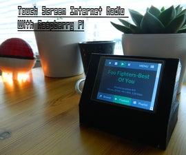 Touchscreen Internet Radio, Raspberry