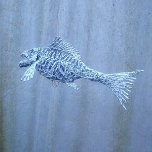 Silicone Rubber Fish Sculpture