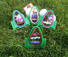 3D Printed Spinning Easter Egg