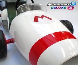 Mario Kart 8 Deluxe: B Dasher 1:6 Scale Model!