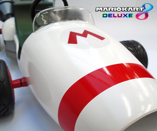 Mario Kart 8: B Dasher 1:6 Scale Model