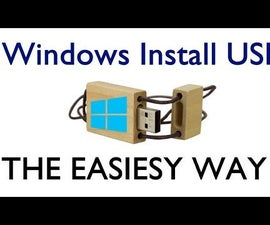 How to Make A Bootable USB to Install Windows ( EASIEST WAY ! )