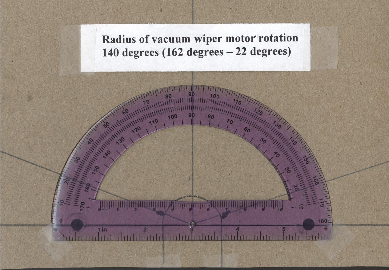Picture of Deterimining the Radius  2nd Step