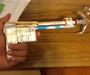 How to Make a Grappling Gun From Office Supplies