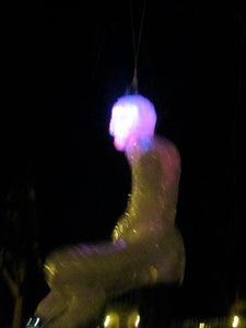 Saran Wrap Mannequin