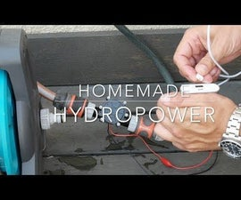 Homemade Hydropower System
