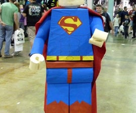 "How to make a Lego ""Superman"" costume"