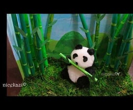 Kids Summer Crafts_Diorama: Made With Shoe Box,Straw and Pompoms