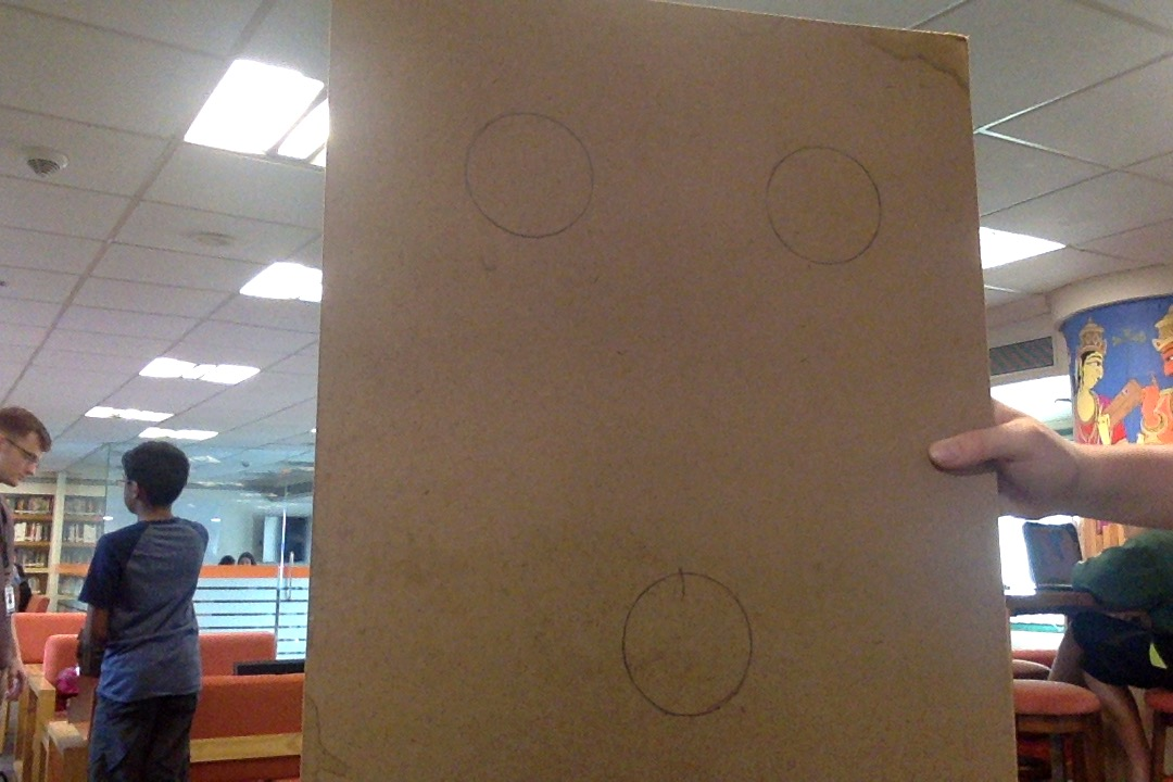 Picture of  MDF Board Holes